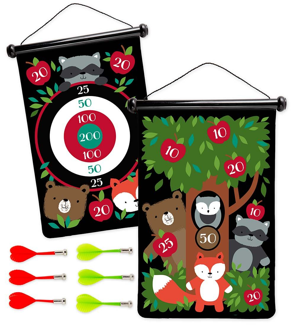 Doublesided target game games for kids darts
