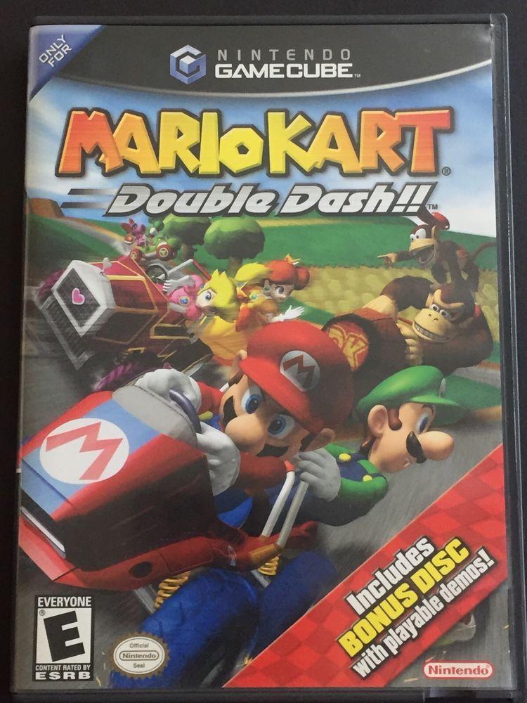 Gamecube Mariokart Double Dash Nintendo Video Game 2 Discs Manual Case Cib Video Games Nintendo Gamecube Iphone