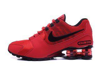 Mens Nike Shox Avenue NZ Red Black Footwear (con imágenes ...