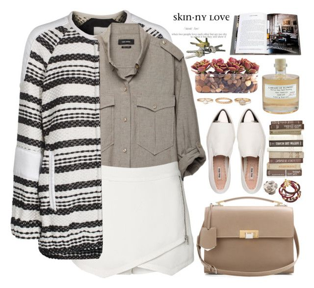 """""""2157. Things End But Memories Last Forever."""" by chocolatepumma ❤ liked on Polyvore featuring Miu Miu, IRO, Isabel Marant, Witchery, Balenciaga, Assouline Publishing, John-Richard, Forever 21, Library of Flowers and Sara Designs"""