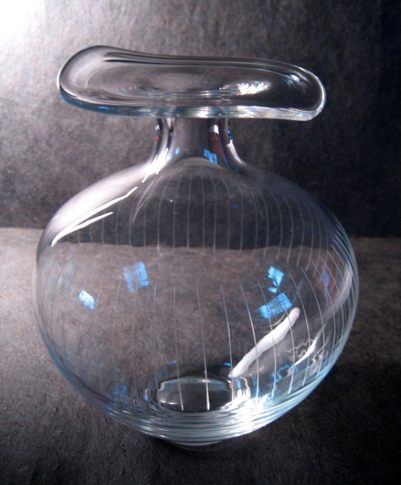 Wirkkala Chanterelle Vase Iittala Style Mid Century Modern