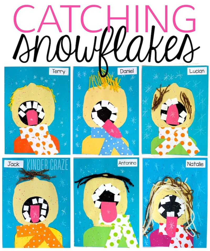 Catching Snowflakes on Your Tongue for Winter | KinderLand ...