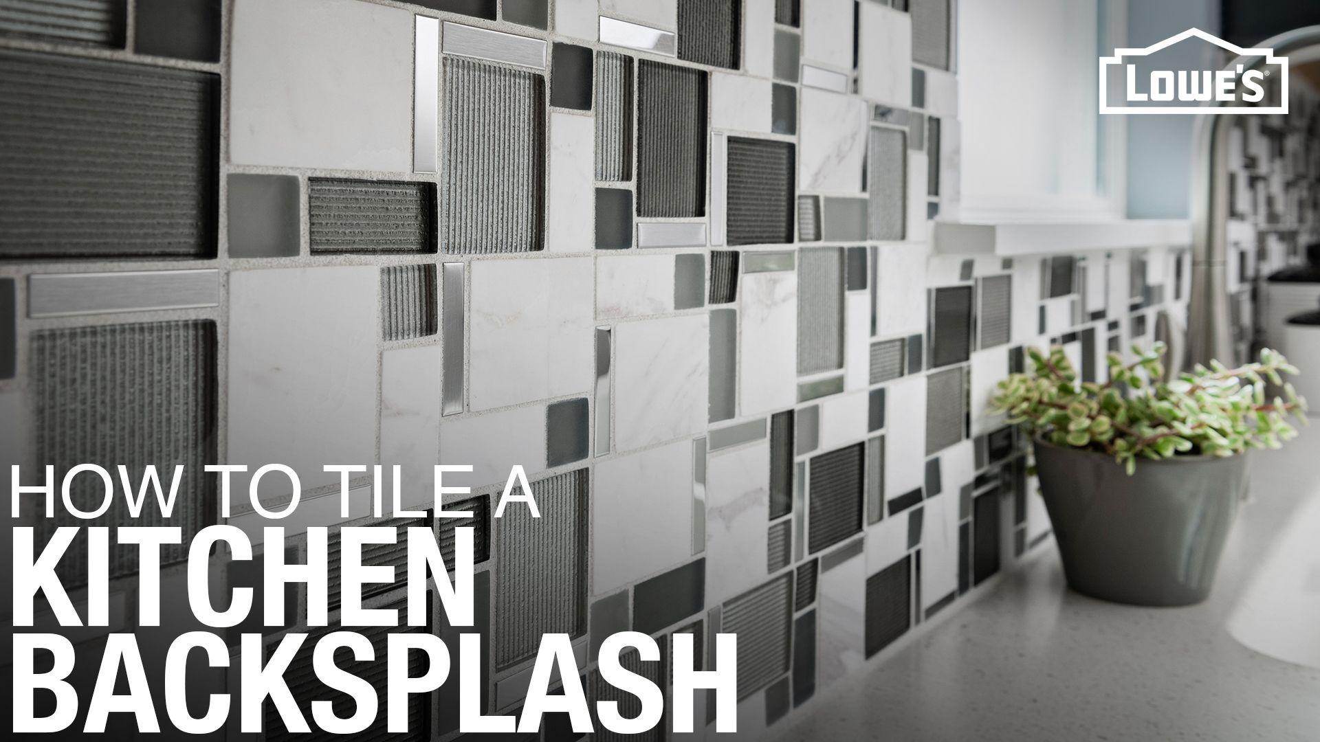 How to Install a Tile Backsplash Install backsplash