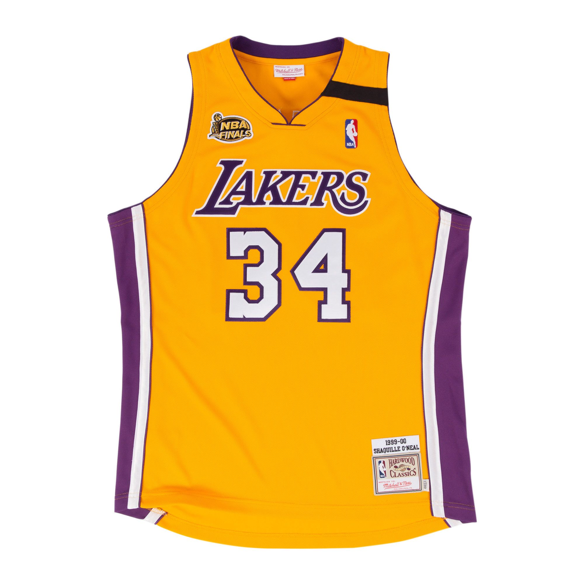 no short desc Shaquille o'neal, Los angeles lakers, Jersey