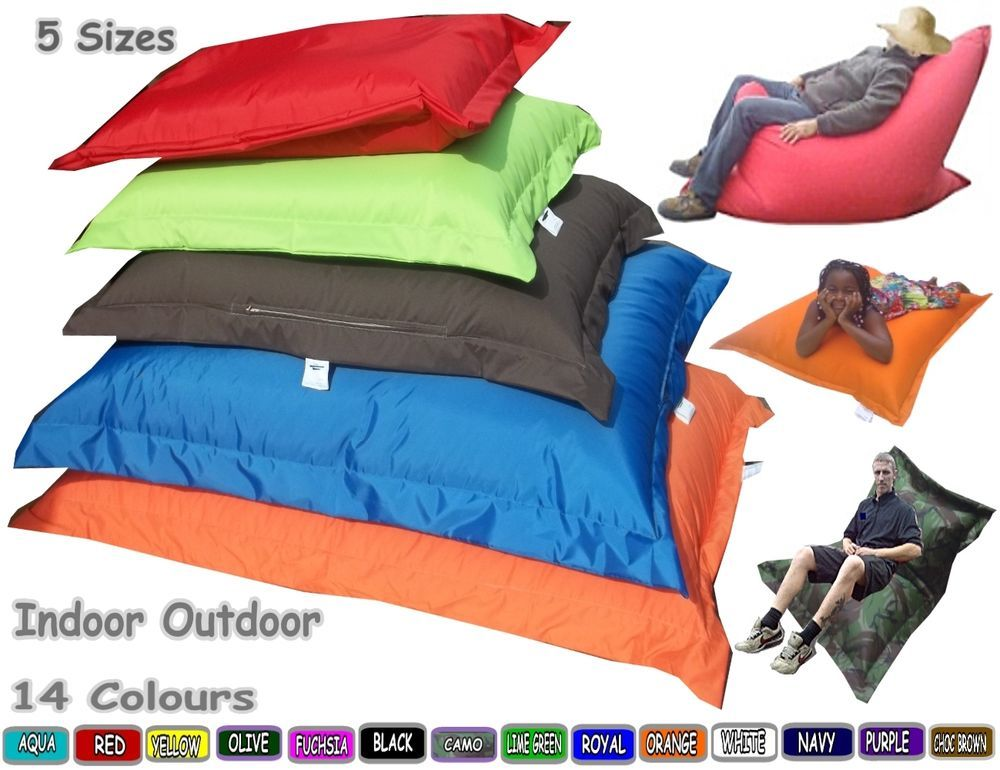 Details About Large Bean Bag Lounger Kids Adult Children Giant Cushion  Beanbags In/Outdoor