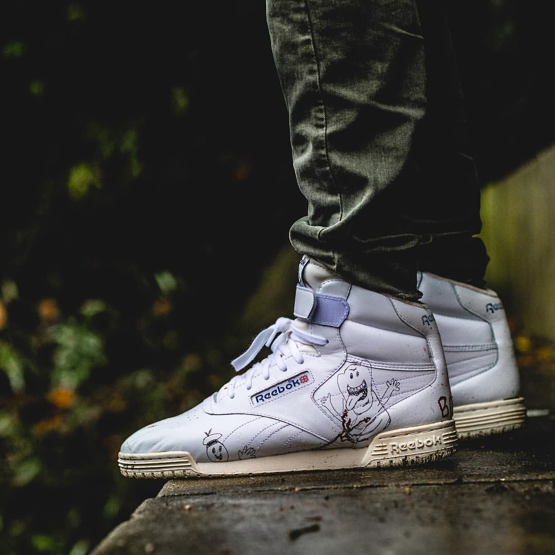 BAIT x Stranger Things x Ghostbusters x Reebok Ex-O-Fit Clean Hi ... 997870a780eb