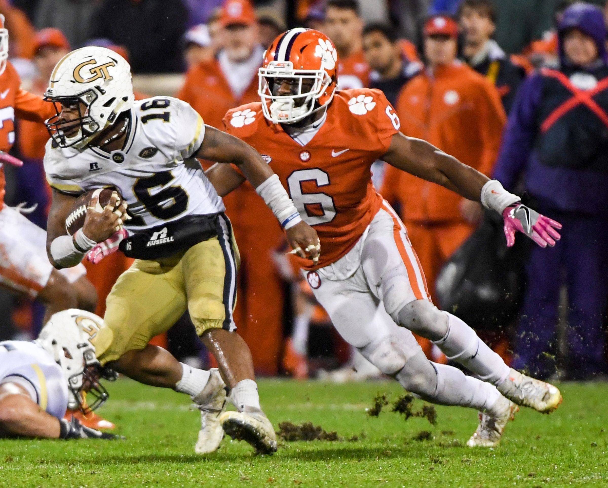 With Clemson coming to town, has Tech QB TaQuon