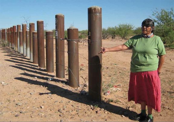 usa medic border fence in the indian reservation are of on border wall id=87289