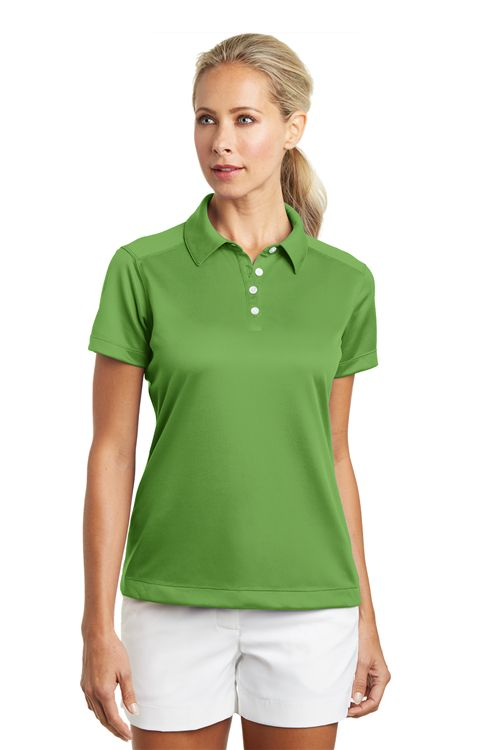 Nike Golf 354064 Ladies Dri FIT Pebble Texture Polo