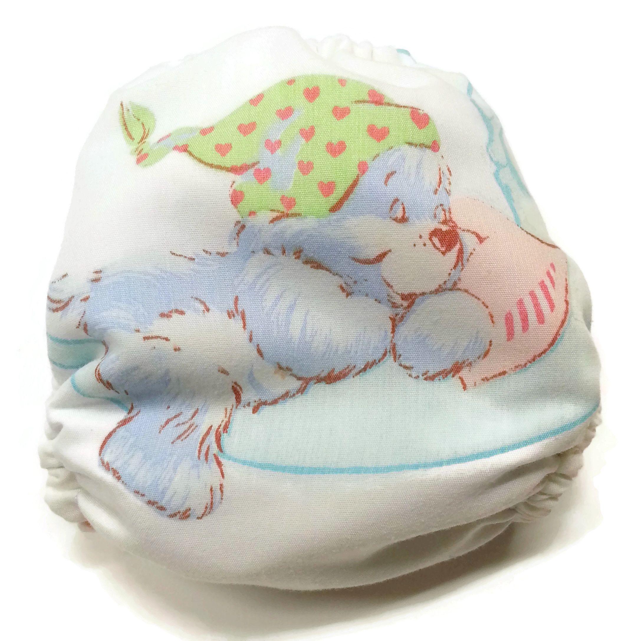 Care Bears Goodnight Bear Auction Honeybuns Cloth Diaper