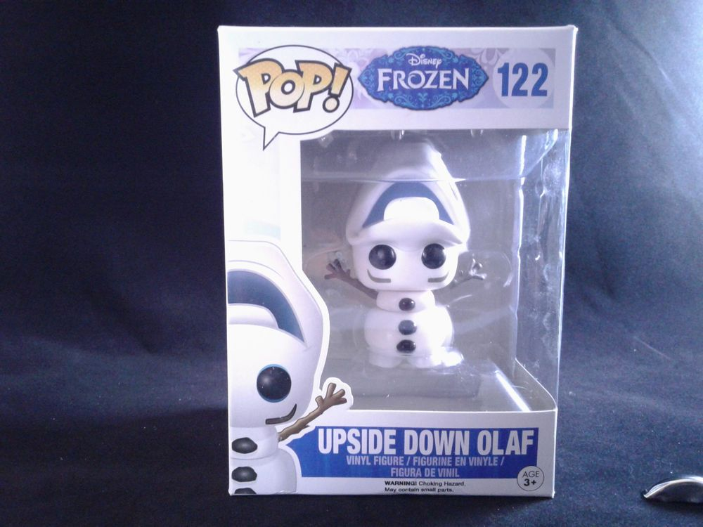 FUNKO POP DISNEY FROZEN UPSIDE DOWN OLAF  # 122   VINYL FIGURE