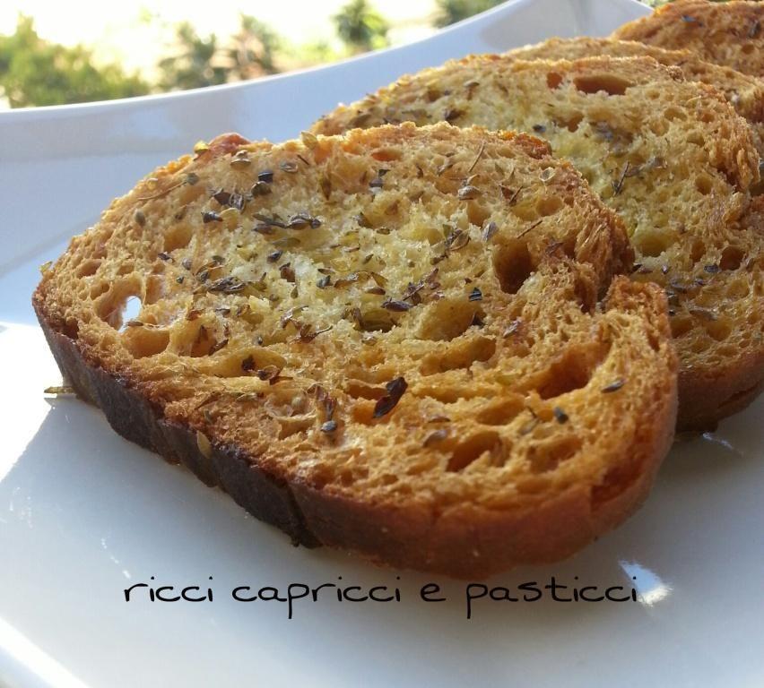 Crostini ricetta riciclo pane