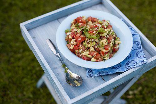 Salsa med tomat & guacamole