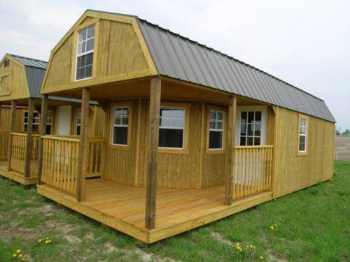 Amish-built-modular-Garage-Shed-Cabin-Barn-Tiny-House-No