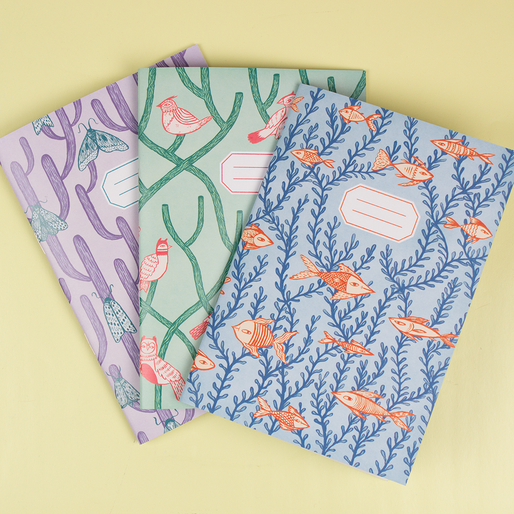 Notebooks designed by Kristyna Baczynski. See more here. Pick up 25 of your own A5 notebooks for only £45! http://awsmr.ch/NotebookBlog