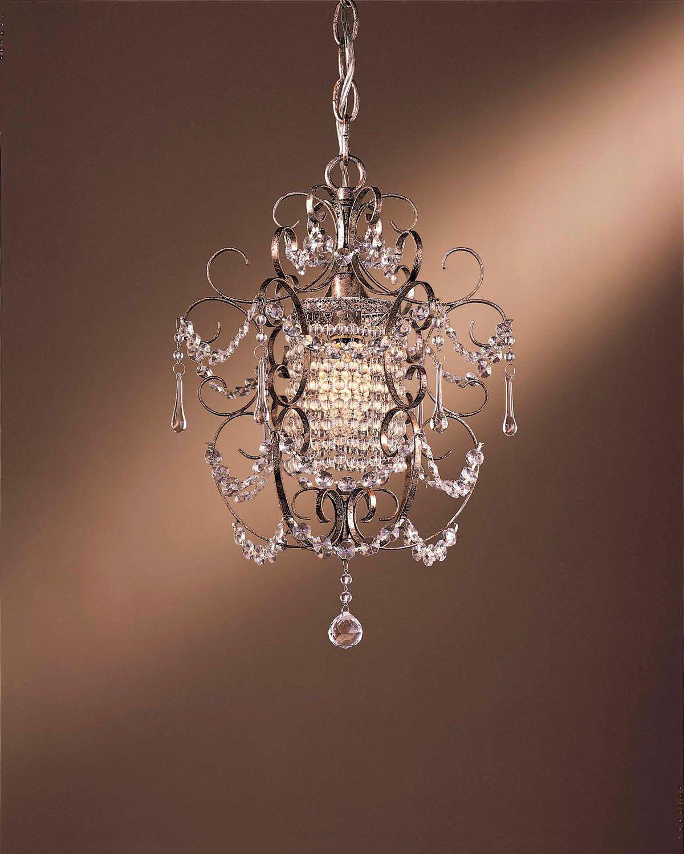 One light mini chandelier ideas for the house pinterest mini