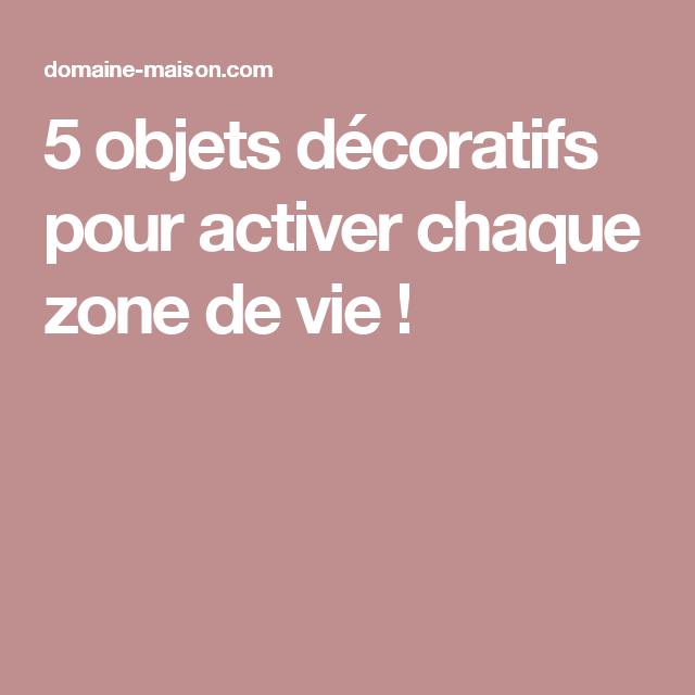 5 objets d coratifs pour activer chaque zone de vie for Objet decoratif pour salon