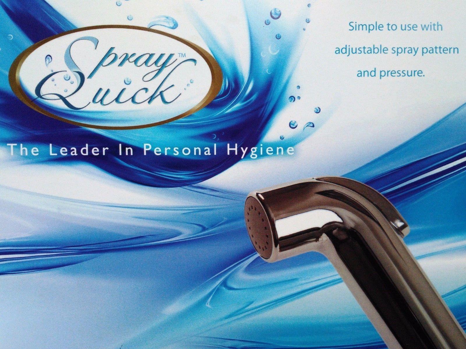 Bidet Water Sprayer White Shattaf Toilet USA High Quality