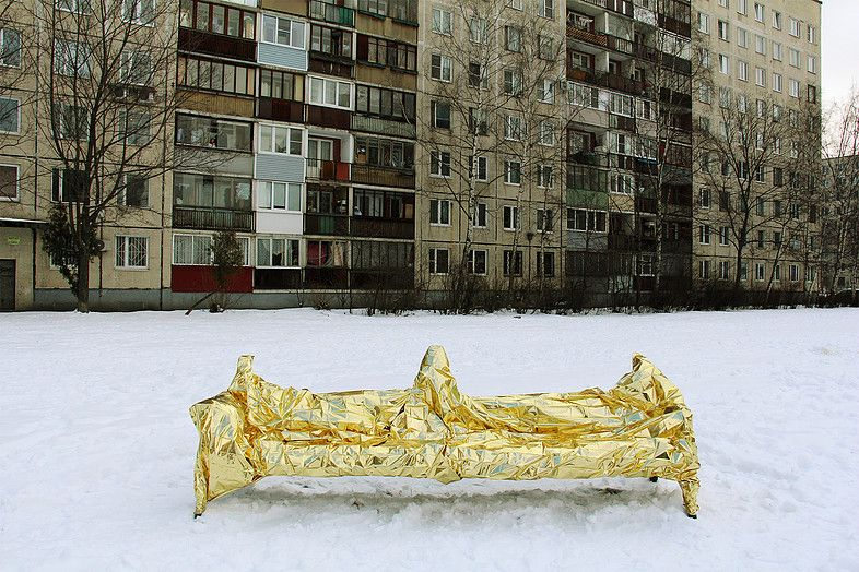 Lada Neoberdina, the benches. Variations, 2012-2016   Public benches
