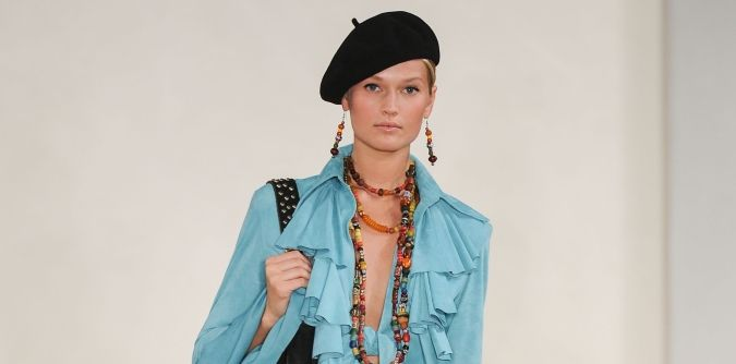 How to wear the beret in summer  84ce54e372f