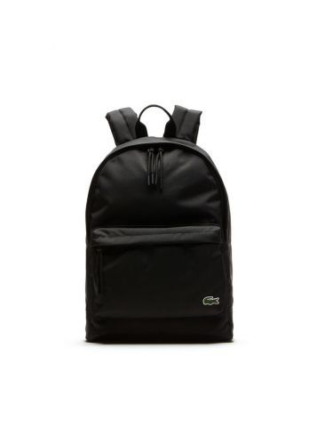 7ae1a19372 Sac à dos Lacoste noir toile canvas black backpack femme women taylor