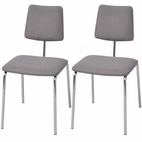 Prezzi e Sconti: #Vidaxl set 6 sedie da tavolo in tessuto rosso ...