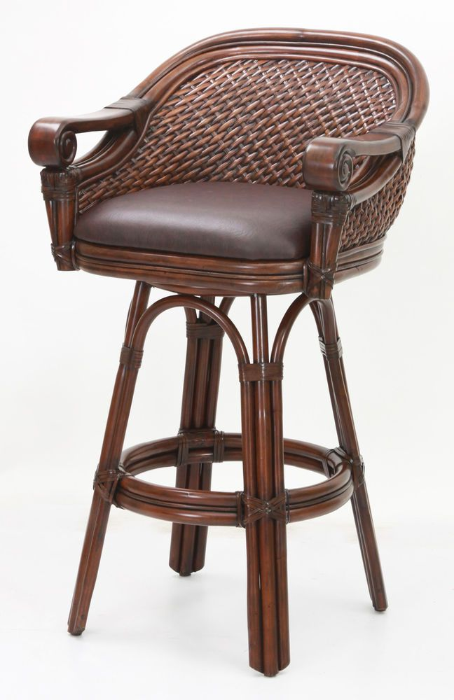 American Woodcrafters Simonton 26 Swivel Bar Stool With Cushion Swivel Bar Stools Bar Stools Stool