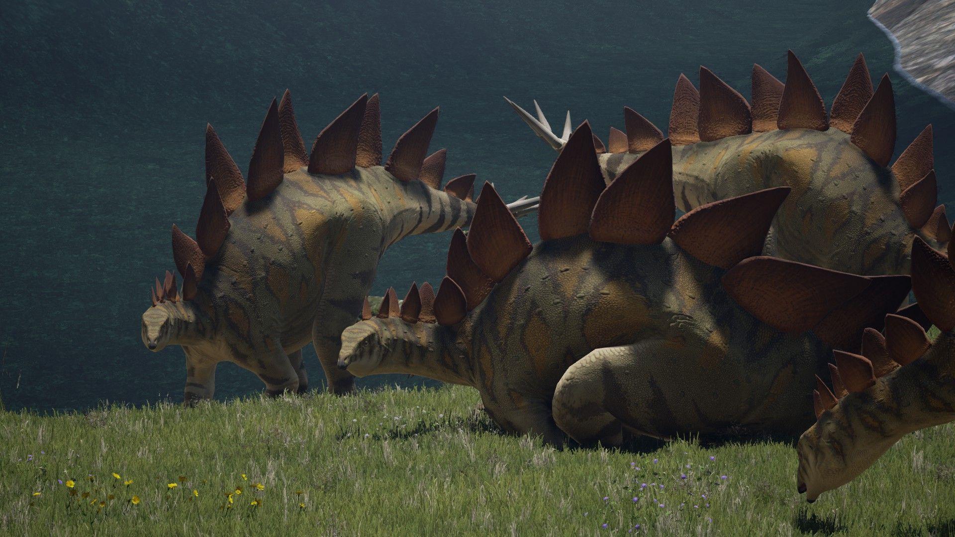 Stego herd (The Isle)   DinoRama   Prehistoric creatures, Jurassic