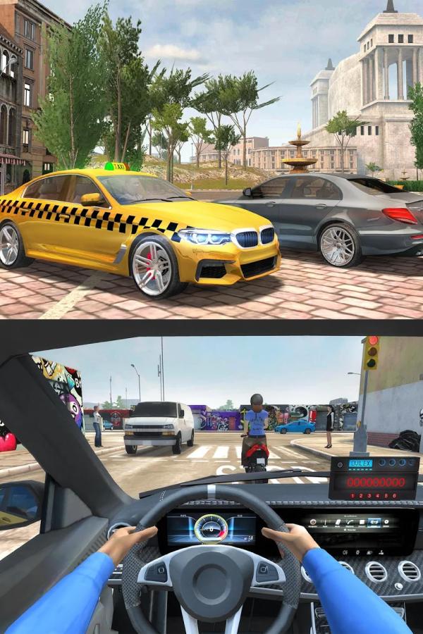 Taxi Sim 2020 Apk Mod Dinero Ilimitado Juegos De Simulacion Juegos Para Moviles Juegos