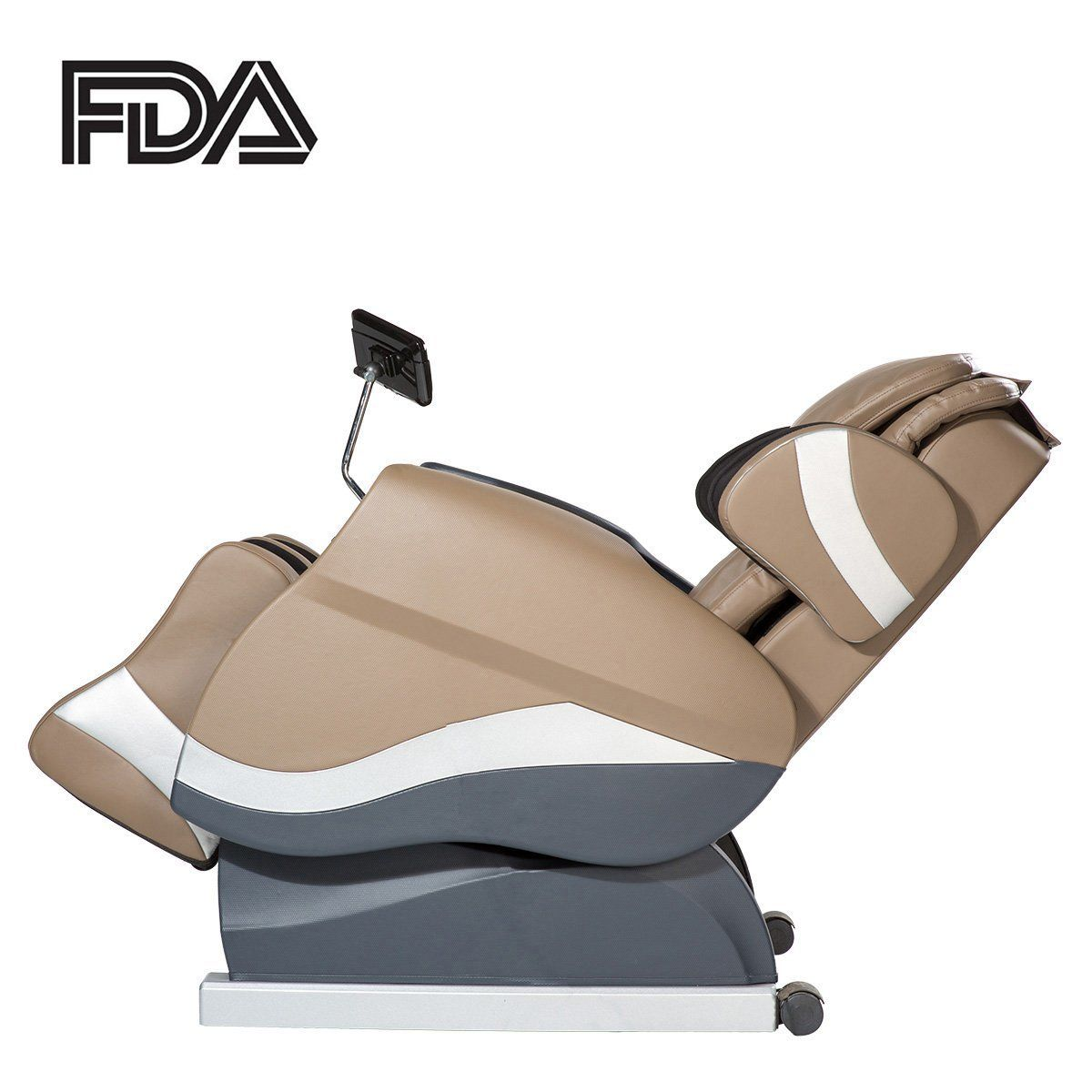 Merax Full Body Massage Recliner Chair 8 Massaging Programs Electric  Leather Lounge Chair Massage Chair