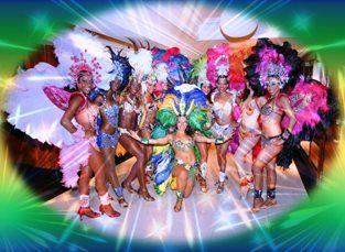 Latin Music (Tropicalia) - Brazilian Carnival Dancers