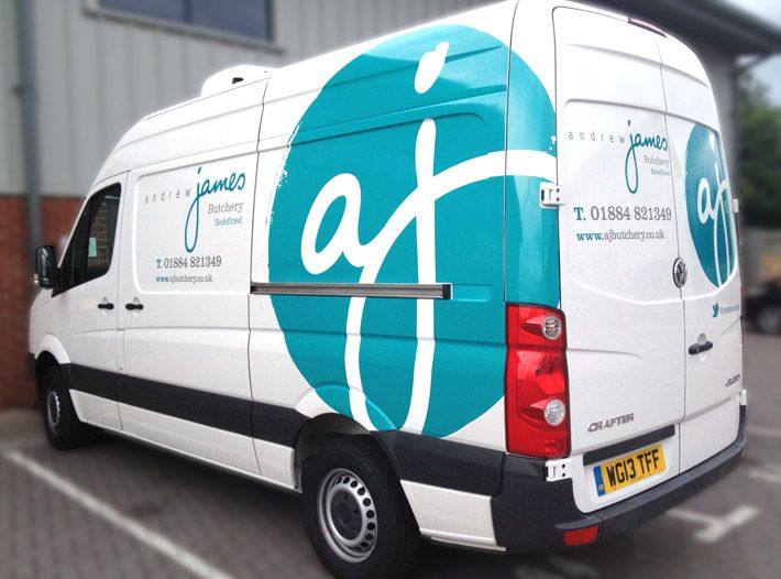 Logos & branding | Work | Van signage, Vehicle signage ...