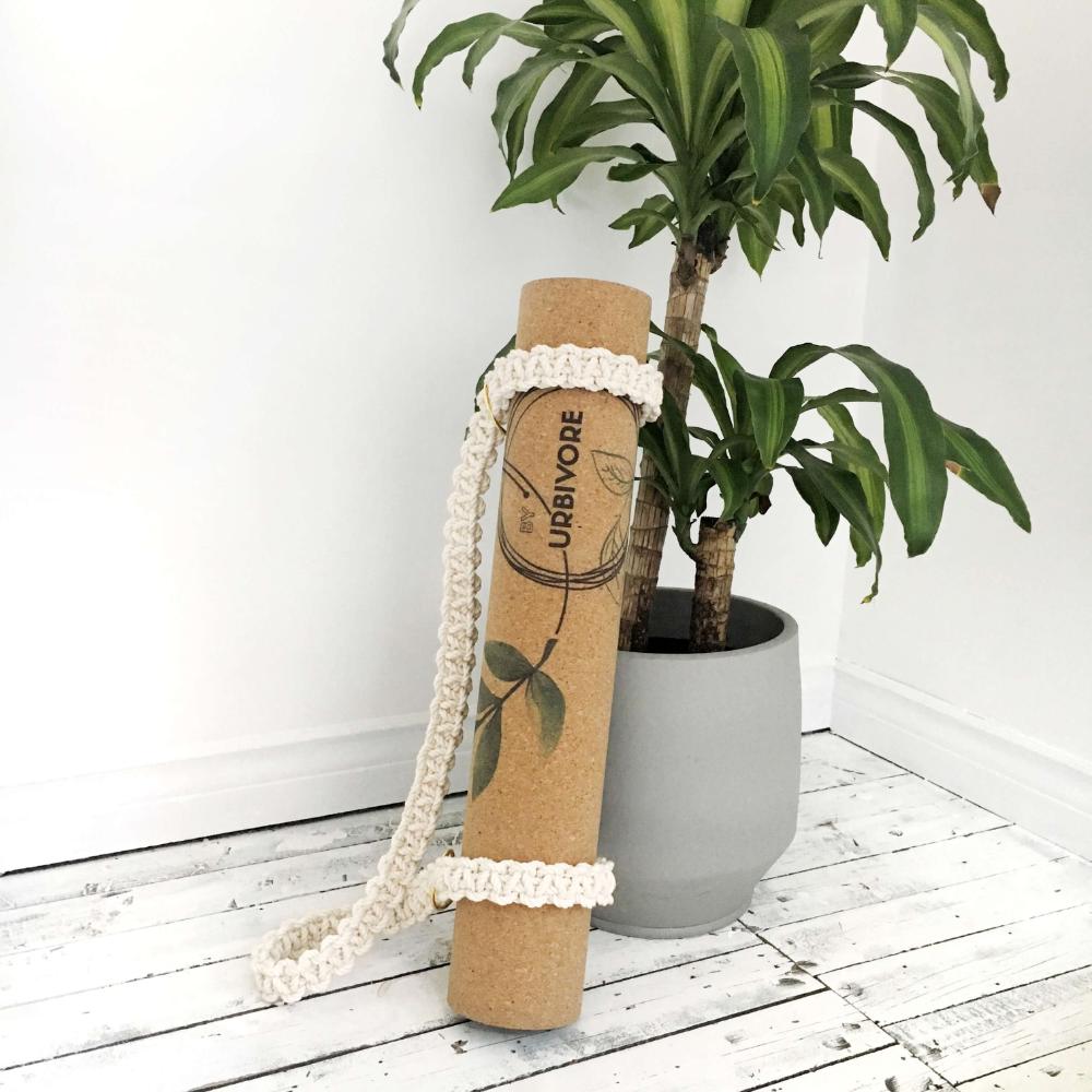 handmade macrame yoga mat strap [one size fits all