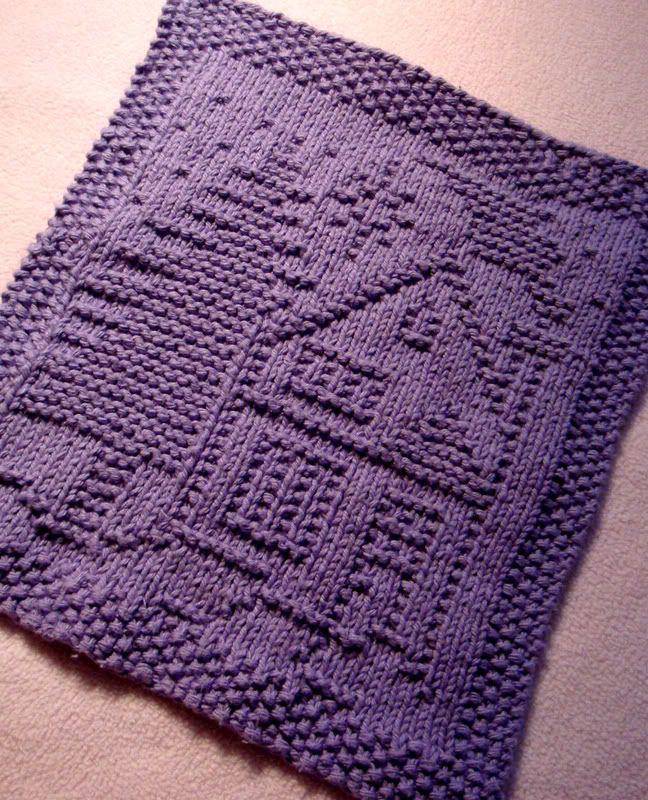 Knitting Granny Dishcloth : Free pattern a christmas dishcloth knitting dish rags