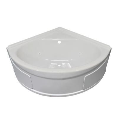 Lyons Industries Sea Wave 4 Ft. Whirlpool Tub With Center Drain In  White SVW01484820