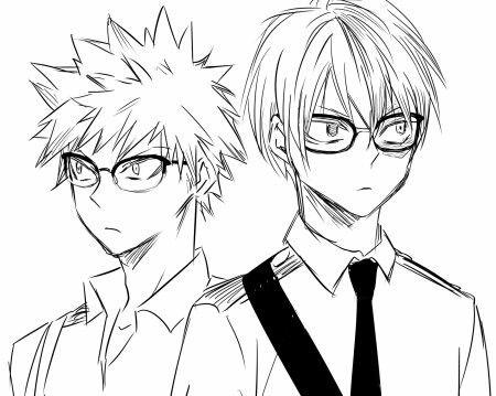 Bakugou Katsuki & Todoroki Shouto