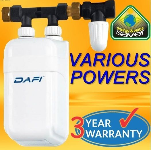 Dafi In Line Instant Under Sink Water Heater Tankless Electric Boiler Hot Water Water Heater Instant Water Heater Under Sink