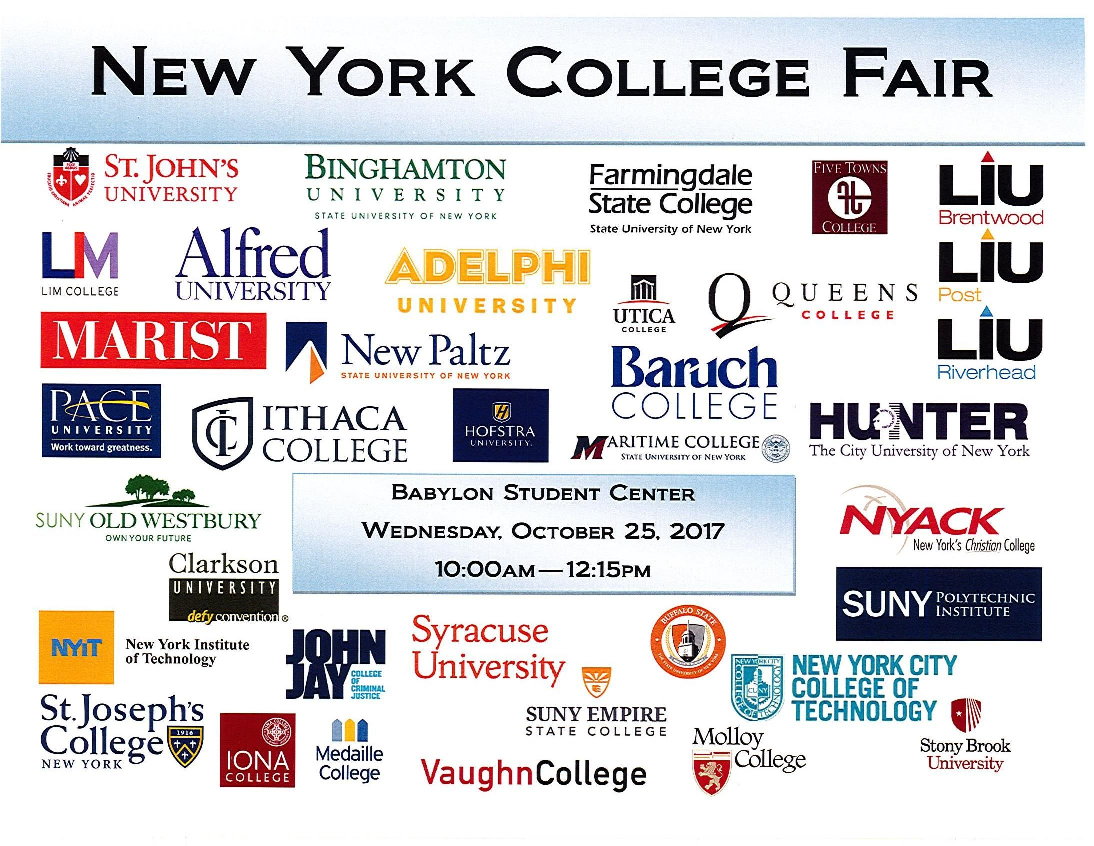 sccc ammerman campus map 10 25 17 New York College Fair At Suffolk County Community College sccc ammerman campus map