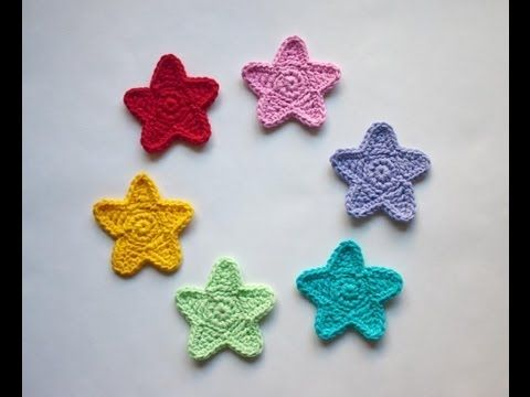 Crochet How to Free Pattern - Tiny Star - Right Handed - FP403 ...