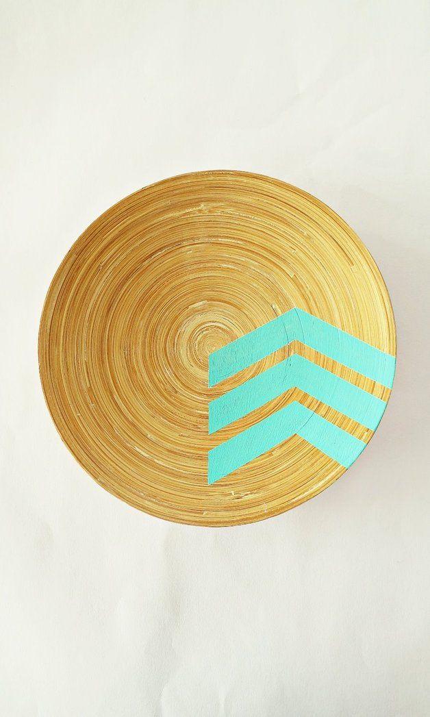 Bambusschale Schale Zur Dekoration Mint Mint Pinterest