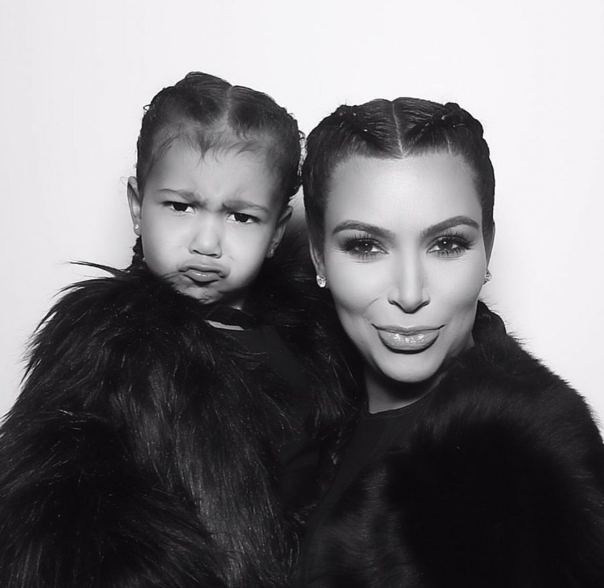 Kim kardashian and north image by Marie Kline on Our Home