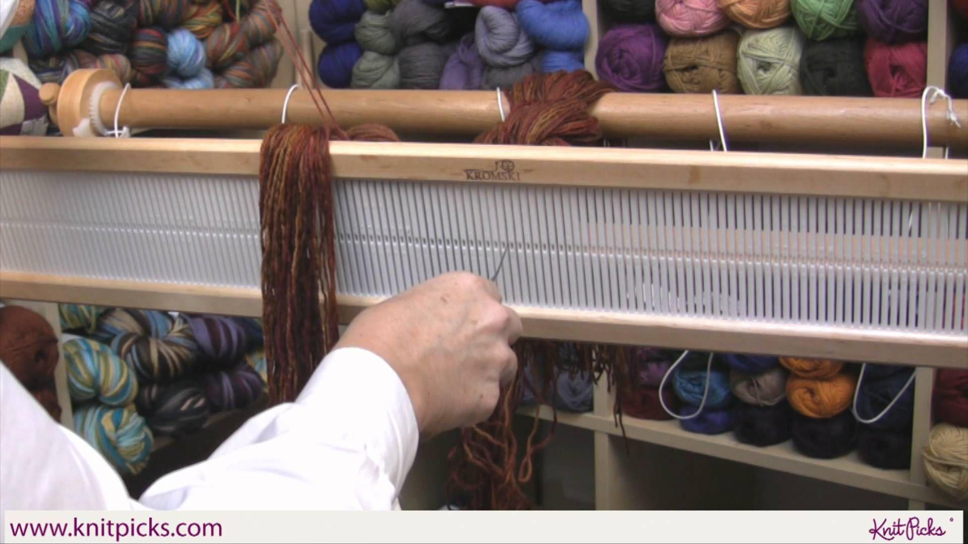 Kelleys Rigid Heddle Weaving Class Part 6 Threading The