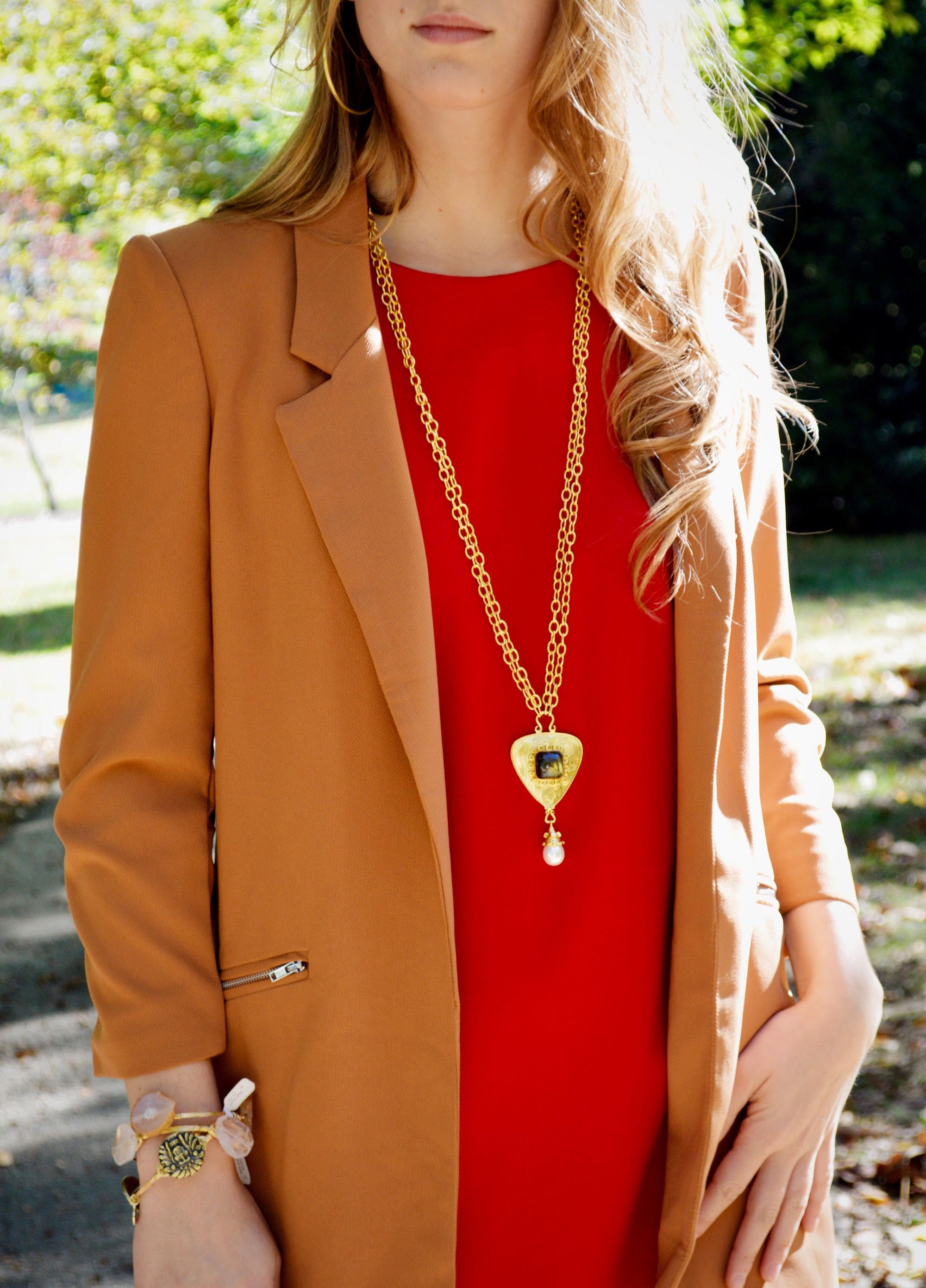 vos store l julie gold necklace