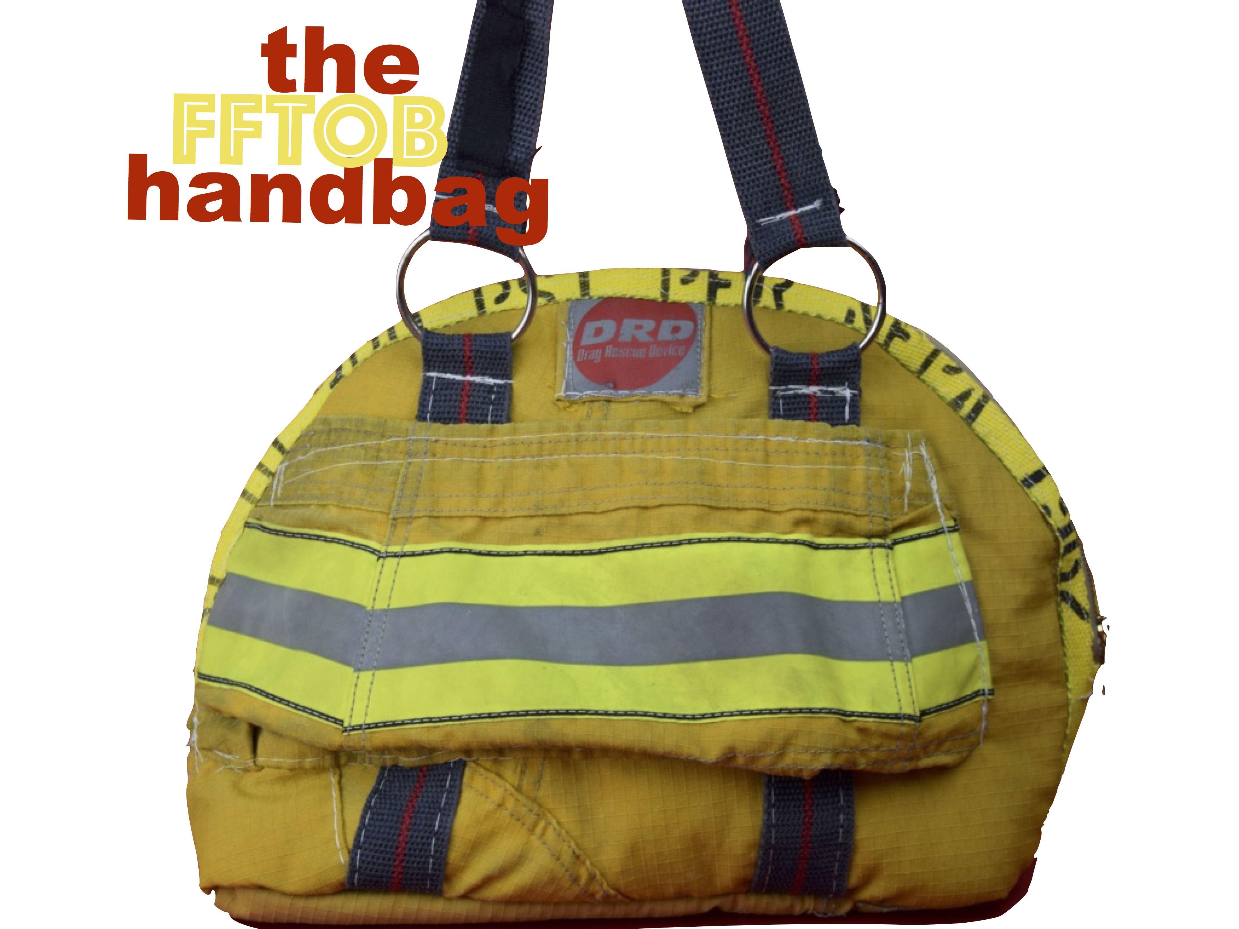 Firefighter Turnout Handbag Or Camera Case By Niki Rasor