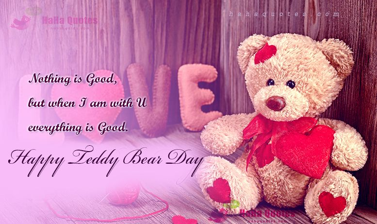 happy teddy bear day images free download | hugs | Pinterest