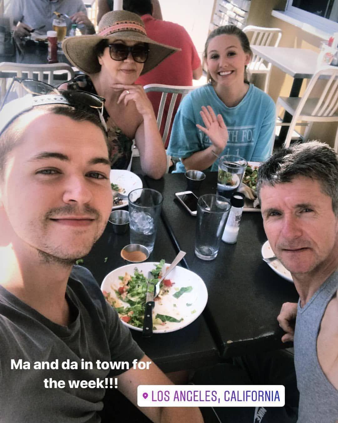 via Damian's instagram story (June 1, 2018) Instagram