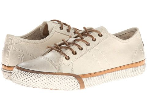Frye Greene Low Lace   White lace shoes