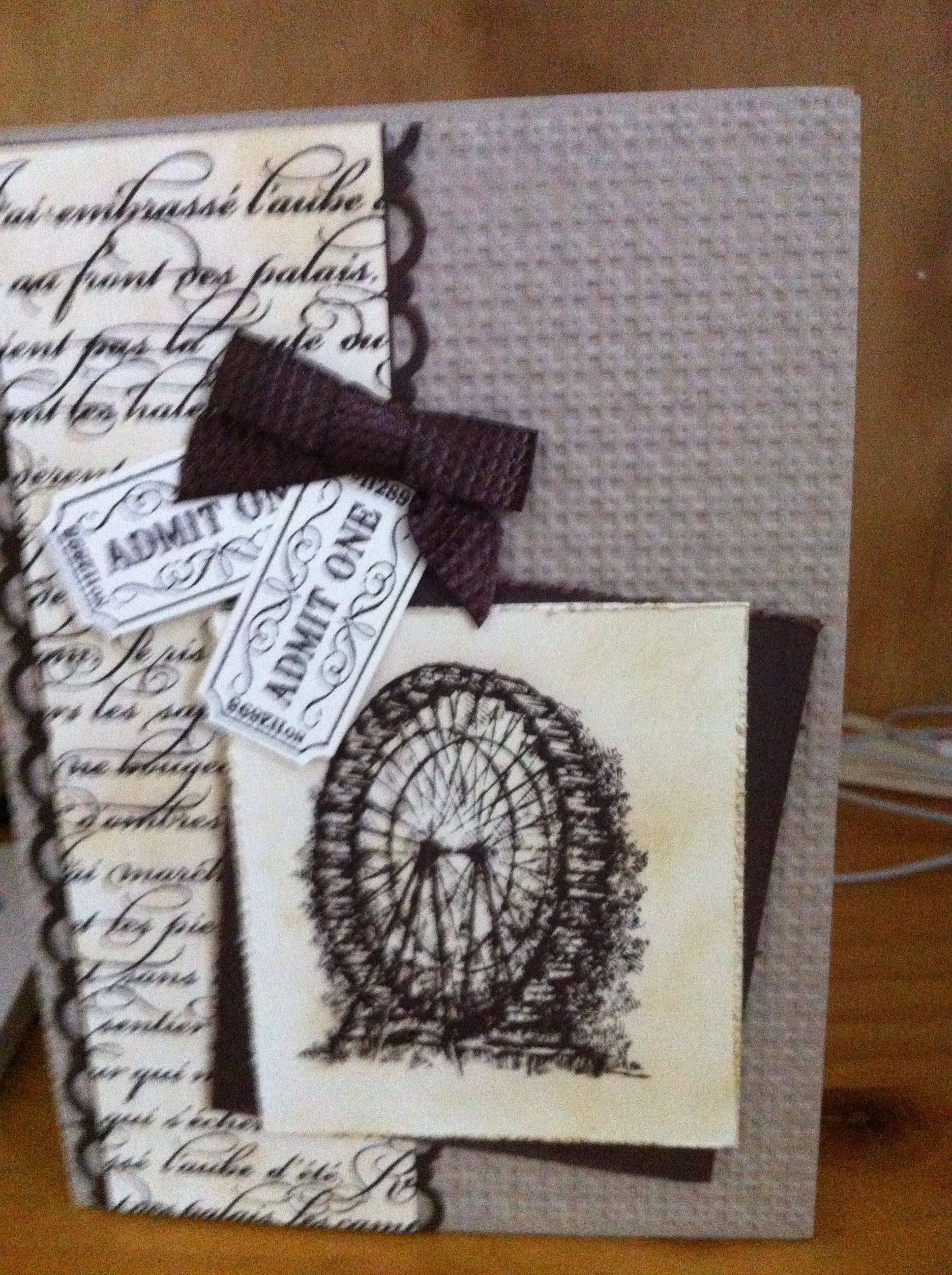 One of my all time Favourite Stampin Up cards using Sale-A-Bration