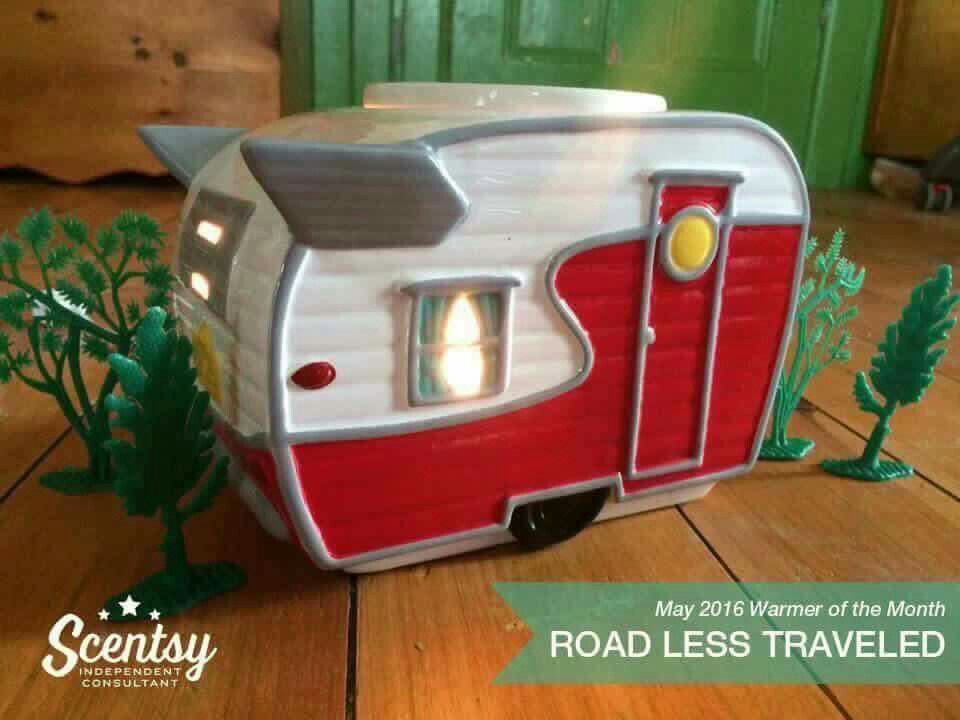 Road Less Traveled Scentsy Warmer 10% off for the month of May www.juliecooney.scentsy.ca