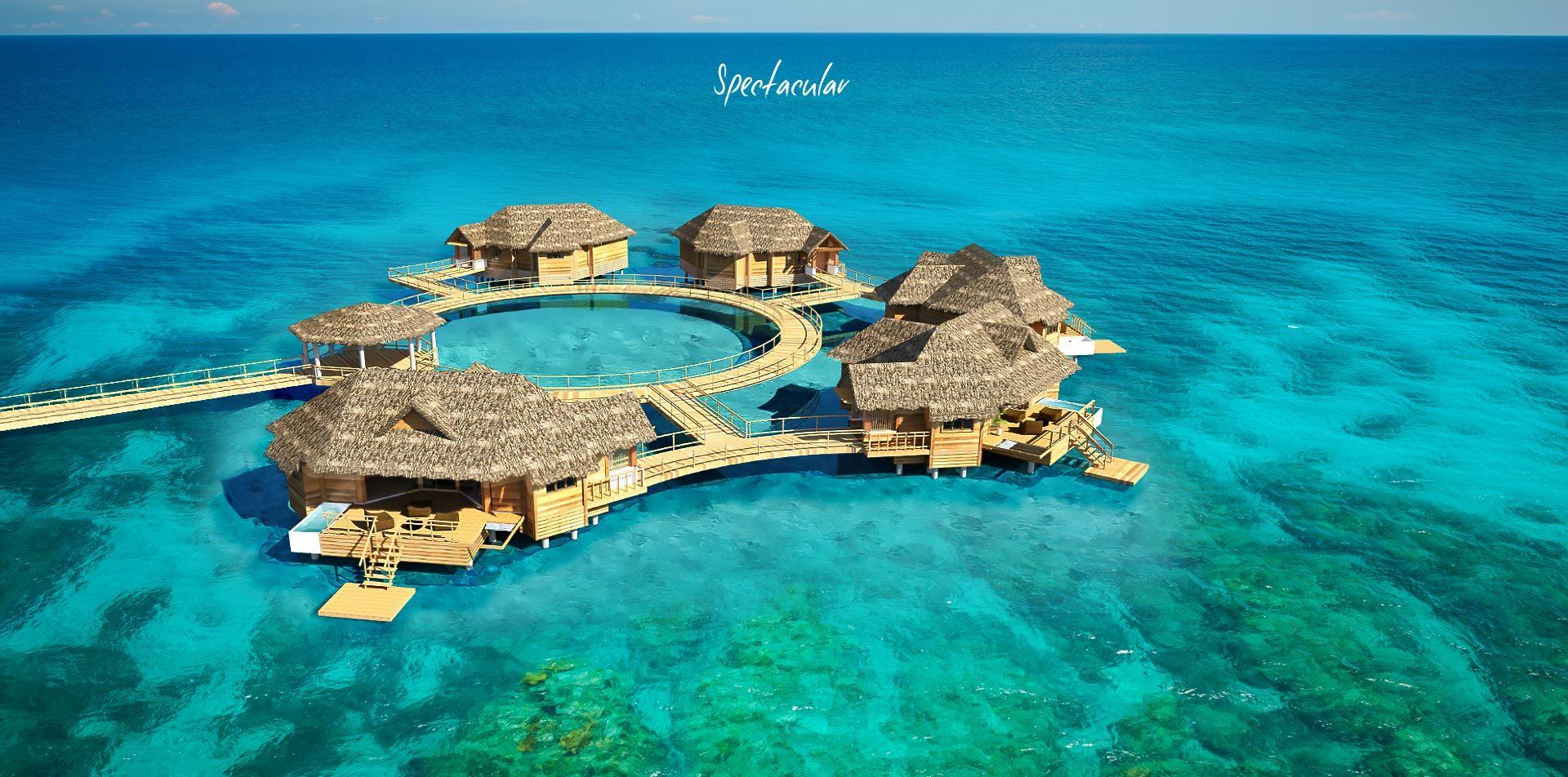 2bd404568f15 Sandals to Open Overwater Bungalow Suites in Jamaica